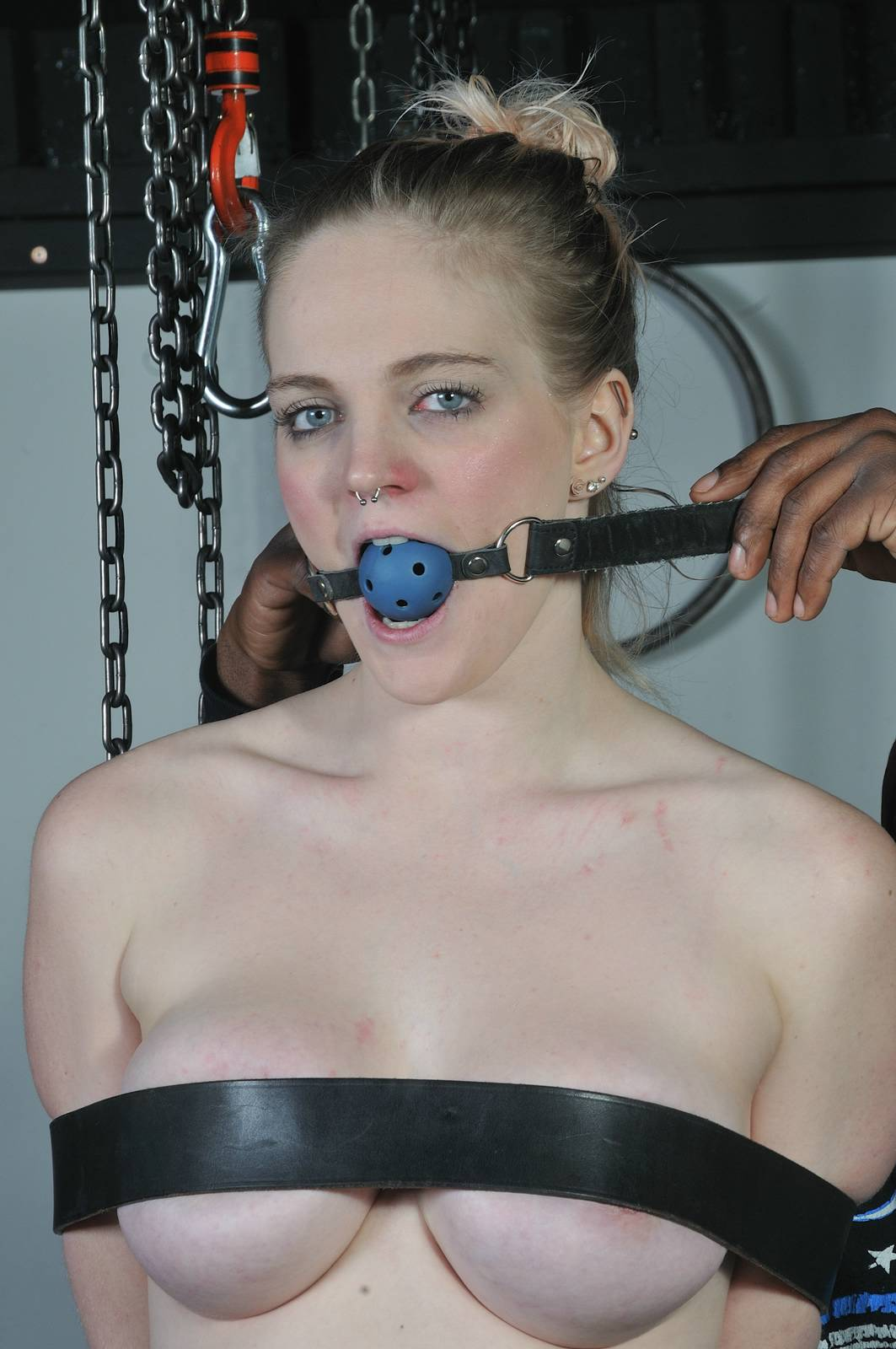 Carly Raes Interracial Bondage